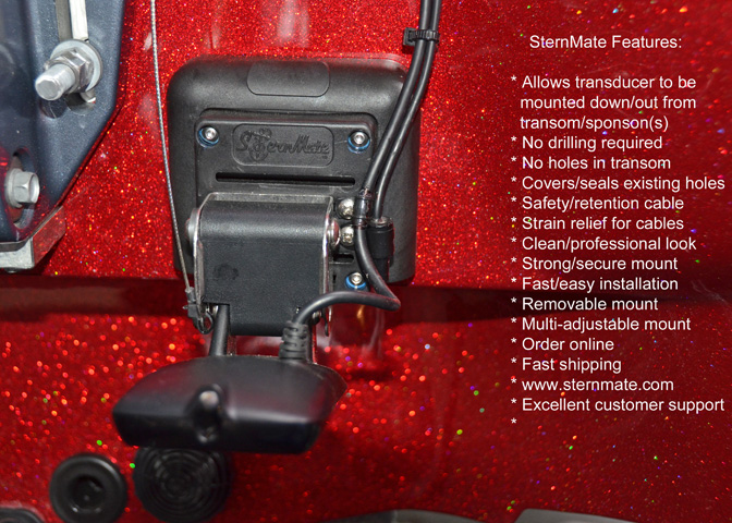 Sternmate Transducer Mounting System High Speed Adhesive
